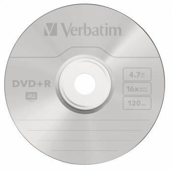 Диск DVD+R Verbatim 4.7Gb 16x (100шт) (43551)
