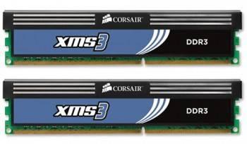 Модуль памяти DIMM DDR3 2x2Gb Corsair (CMX4GX3M2A1600C9)