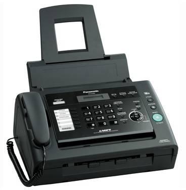 Факс Panasonic KX-FL423RUB черный - фото 2