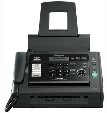 Факс Panasonic KX-FL423RUB черный - фото 3