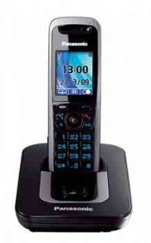 Телефон Panasonic KX-TG8411RUT темно-серый металлик