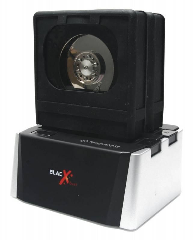 Док-станция Thermaltake BlacX Duet ST0015E SATA II серебристый - фото 5