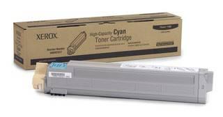 Тонер Картридж Xerox 106R01077 голубой - фото 1