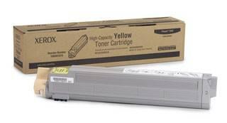 Тонер Картридж Xerox 106R01079 желтый - фото 1