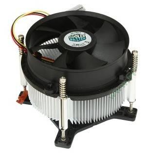Кулер Soc-1156 Cooler Master CP6-9HDSA-0L-GP