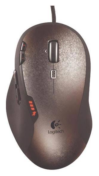 Мышь Logitech G500 черный/серый - фото 1