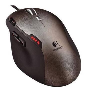 Мышь Logitech G500 черный/серый - фото 2