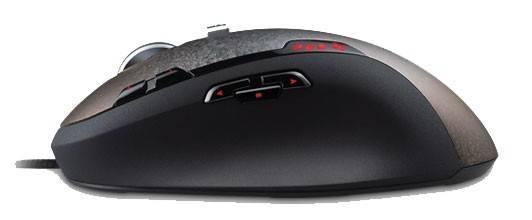Мышь Logitech G500 черный/серый - фото 3