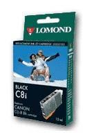 Картридж струйный Lomond CLI-521Bk черный