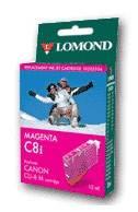 Картридж струйный Lomond CLI-521M пурпурный