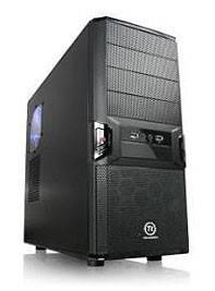 Корпус ATX Thermaltake V3 VL80001W2ZA черный - фото 1