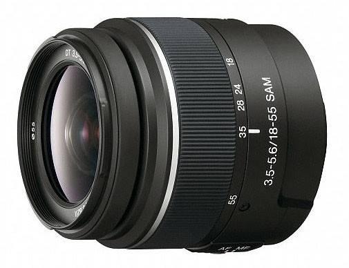 Объектив Sony DT 18-55mm f/3.5-5.6 18-55mm f/3.5-5.6 - фото 1