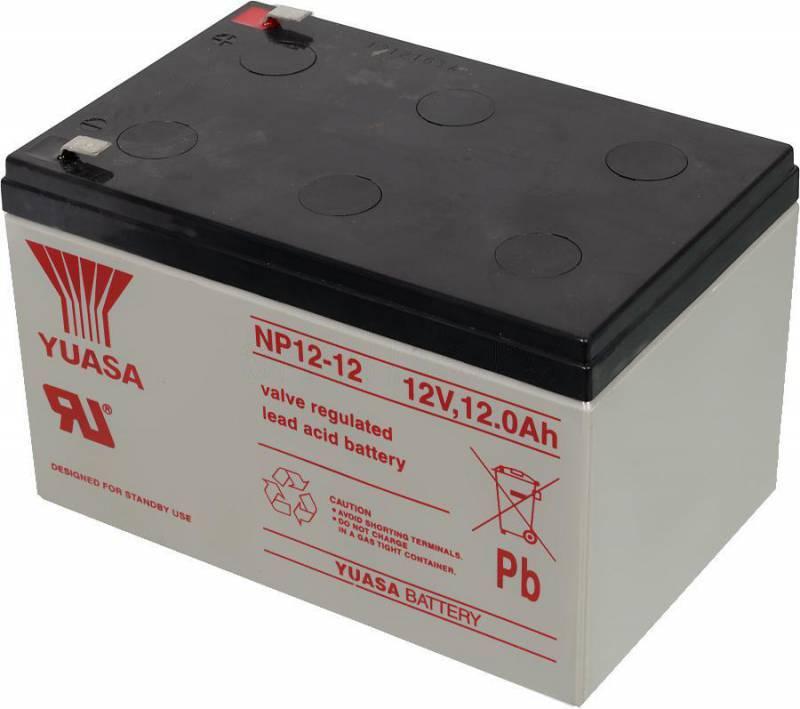 Батарея для ИБП Yuasa NP12-12, 12В, 12Ач - фото 1