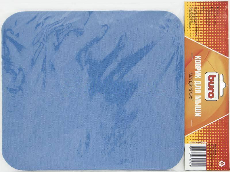 Коврик для мыши Buro Buro BU-CLOTH синий - фото 1