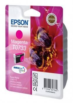 Картридж струйный Epson T0733 C13T10534A10 пурпурный