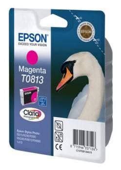 Картридж струйный Epson T0813 C13T11134A10 пурпурный
