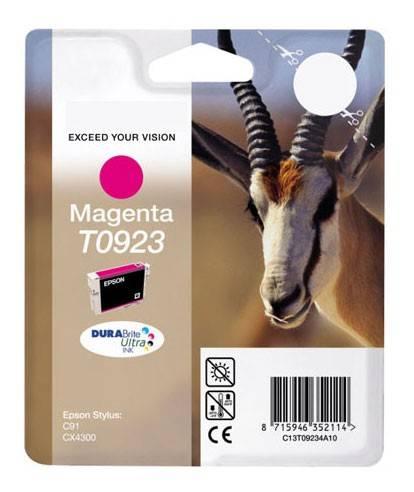 Картридж струйный Epson T0923 C13T10834A10 пурпурный - фото 1