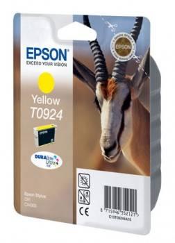 Картридж струйный Epson T0924 C13T10844A10 желтый