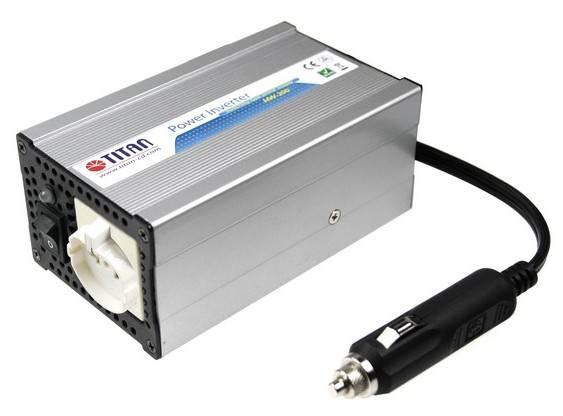 Преобразователь напряжения TITAN HW-200EA. выходная мощность 200Вт...