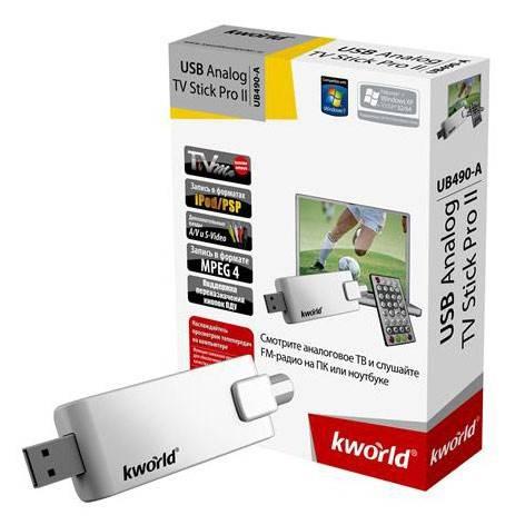 Внешний TB-тюнер USB KWorld KW-UB490-A - фото 3