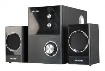 Акустическая система 2.1 Microlab M 223 черный / оранжевый