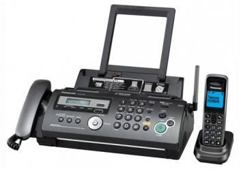 Факс Panasonic KX-FC278RU-T темно-серый металлик
