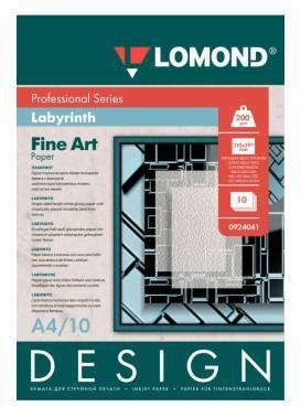 Бумага Lomond (0924041) A4 / 200г / м2 / 10л. белый