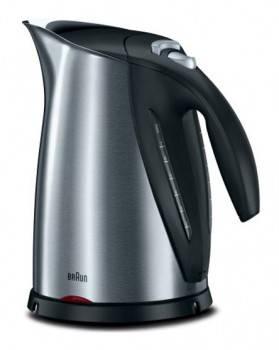 Чайник электрический Braun WK600 (Mquick 7) серебристый/черный (0X63214701)
