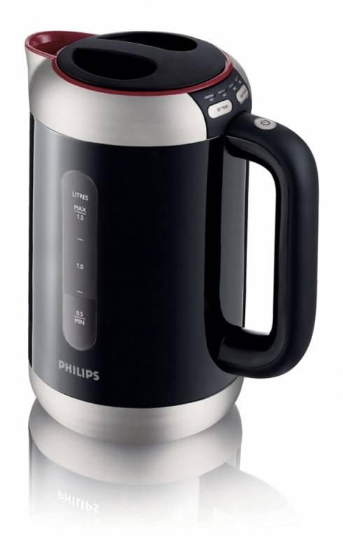 Чайник электрический Philips HD4686/90 черный - фото 2