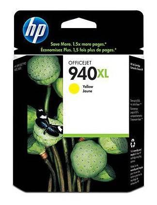 Картридж струйный HP 940XL C4909AE желтый - фото 1
