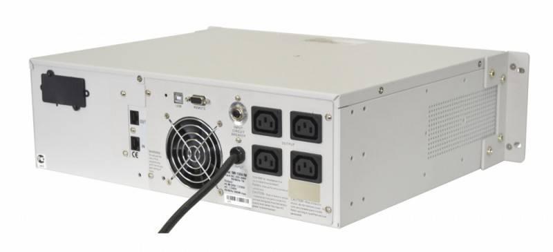 ИБП Powercom Smart King RM SMK-3000A RM LCD - фото 5