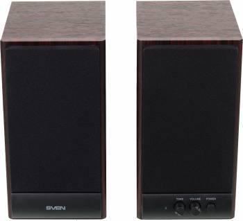 Акустическая система 2.0 Sven SPS-609 коричневый / вишня