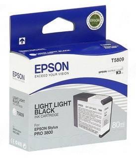 Картридж Epson T5809 светло-серый (C13T580900)