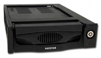 Сменный бокс для HDD AgeStar MR3-SATA(SW)-3F SATA II черный
