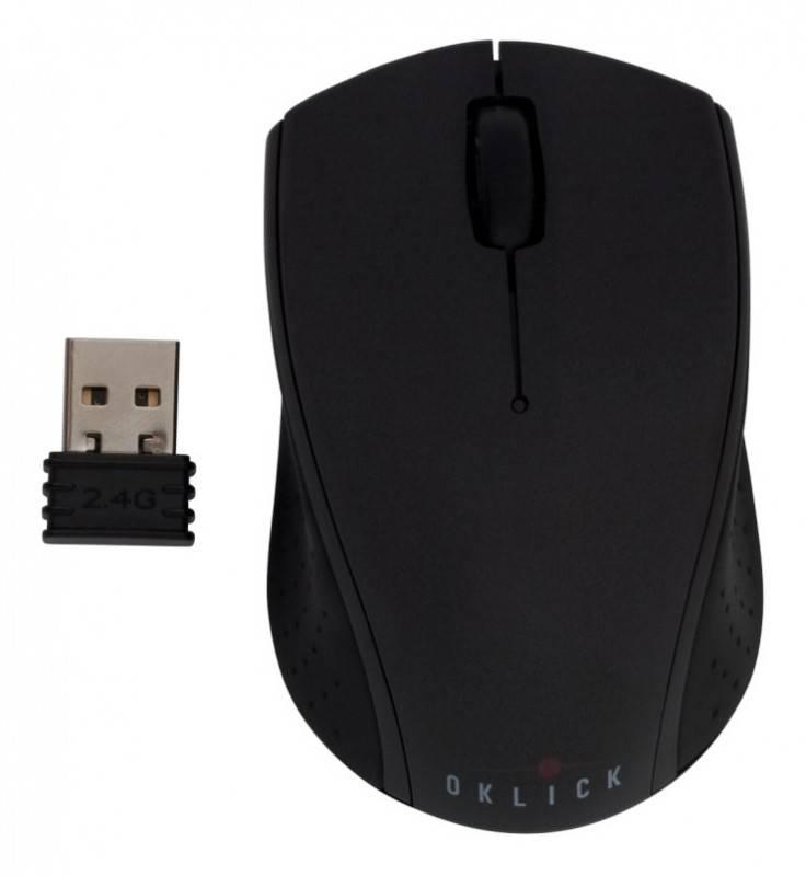 Мышь Oklick 525XSW черный - фото 2