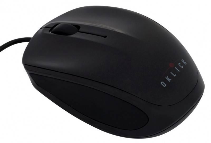 Мышь Oklick 530S черный - фото 1