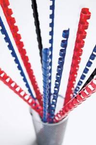 Пружины для переплета пластиковые Fellowes d=22мм151-180лист A4 белый (50шт) CRC-53478