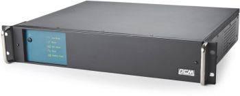 ИБП Powercom King Pro RM KIN-1500AP RM черный (KIN-1500AP RM (2U) USB, RS-232)