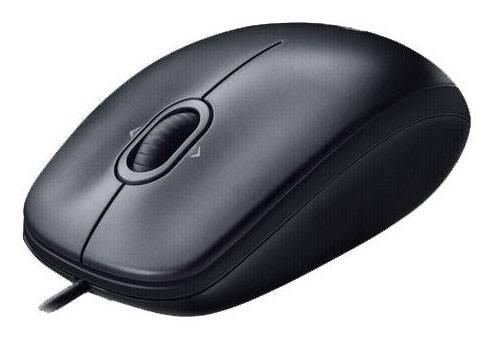 Мышь Logitech M100 черный/темно-серый (910-005003) - фото 1