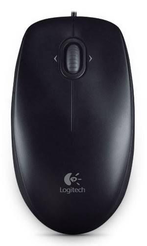 Мышь Logitech M100 черный/темно-серый (910-005003) - фото 2