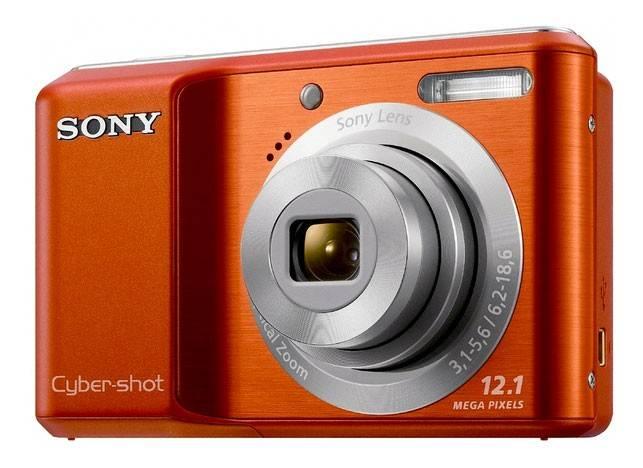 Фотоаппарат Sony Cyber-shot DSC-S2100 оранжевый - фото 1