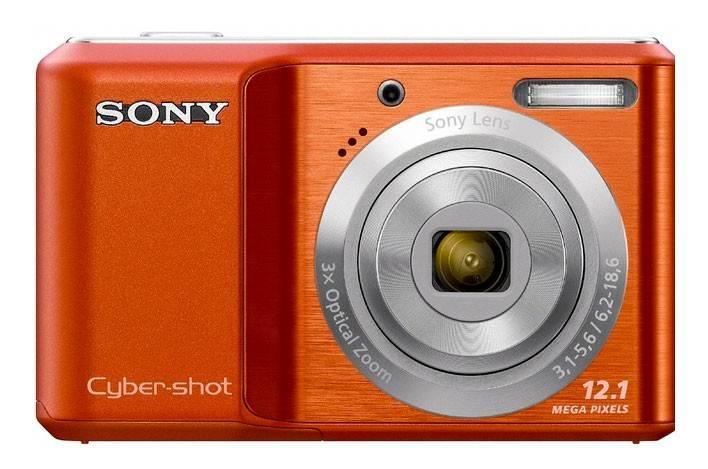 Фотоаппарат Sony Cyber-shot DSC-S2100 оранжевый - фото 2