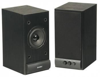 Акустическая система 2.0 Sven SPS-609 черный