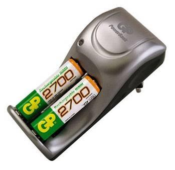 Аккумулятор + зарядное устройство AA GP PowerBank PB25-GS270-CR2 (2шт) - фото 1