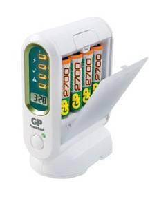 Аккумулятор + зарядное устройство AA GP PowerBank PB80GS270SA, в комплекте 4шт. (GP PB80GS270SA-CR4)