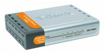 Коммутатор неуправляемый D-Link DES-1005D
