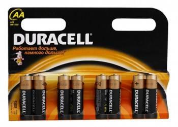 Батарея AA Duracell Basic LR6-8BL (8шт)