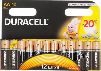 Батарея AA Duracell Basic LR6-12BL (12шт)