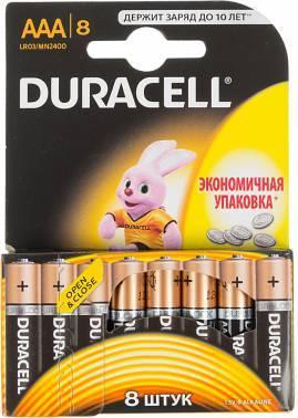 Батарея AAA Duracell Basic LR03-8BL (8шт)
