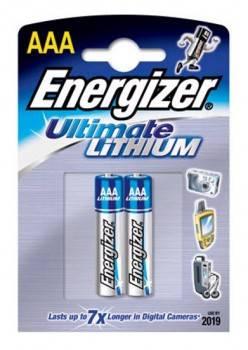 Батарея AAA Energizer FR03 L92 (2шт)